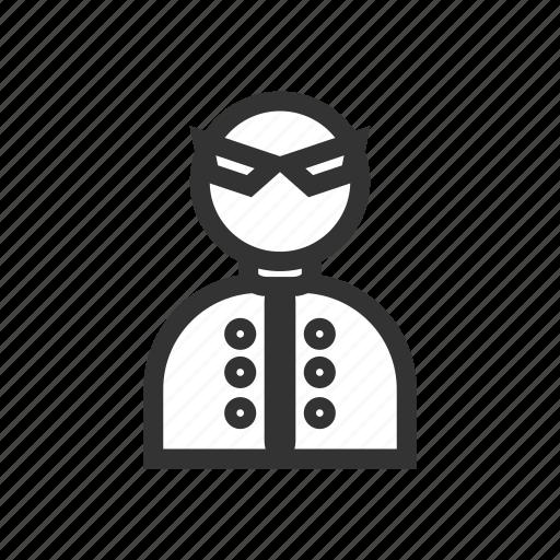 agent, bodyguard, detective, entrepreneur, job, man, occupation icon
