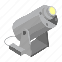 light, outdoor, projector, spotlight icon