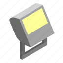 floodlight, light, outdoor, security icon