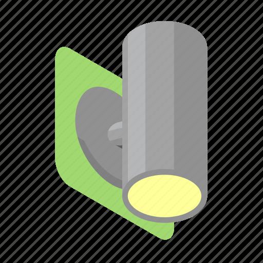 lamp, light, outdoor, spotlight, wall icon
