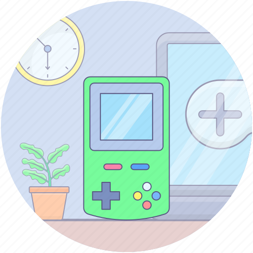 gameboy, handheld game, nintendo, portable video game, retro games, super nintendo, video games device icon