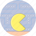 arcade game, ball eating game, game pacman, ghost pacman, pacman icon
