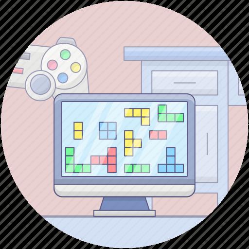 gamepad, joystick, remote controller, video game controller, video game equipment, volume pad icon