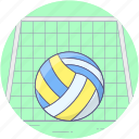 ball, basketball, game, olympic volleyball, playbill, sports, sports ball icon