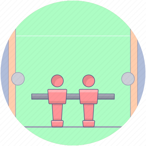 game field, pitch, playground, playing area, playing field icon