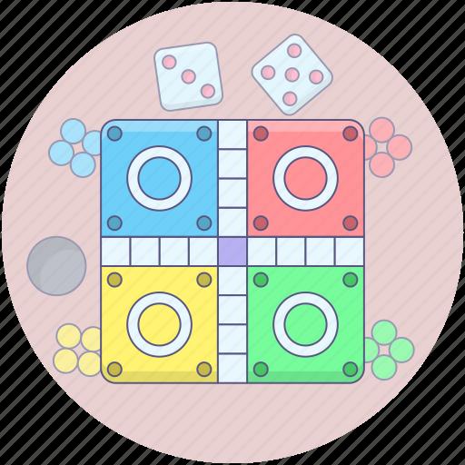 board game, ludo board, ludo game, ludo star, tabletop game icon