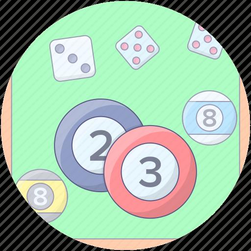 billiard ball, cue game, cue sports, pool ball, snooker ball icon