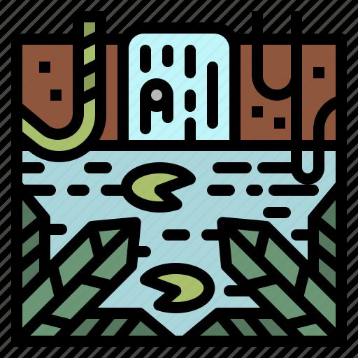 Foress, jungle, landscape, nature, amazon rainforest, amazon river icon - Download on Iconfinder