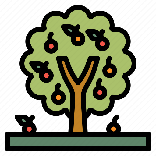 Farming, fruit, growing, nature, tree icon - Download on Iconfinder