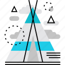 active, camp, camping, leisure, nature, tent, travel icon