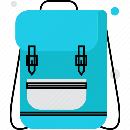 backpack, bag, hiking, rucksack, tourism, travel, trip icon