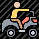 activity, adventure, atv, motorsport, travel icon