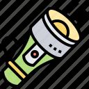 flashlight, lamp, lightening, spotlight, torch