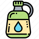 backpacker, bottle, container, juice, water icon