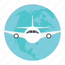 airplane journey, journey by air, travel around world, travel by air, traveling by plane icon