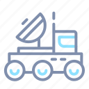 auto, outer, space, transport, transportation, truck, vehicle icon