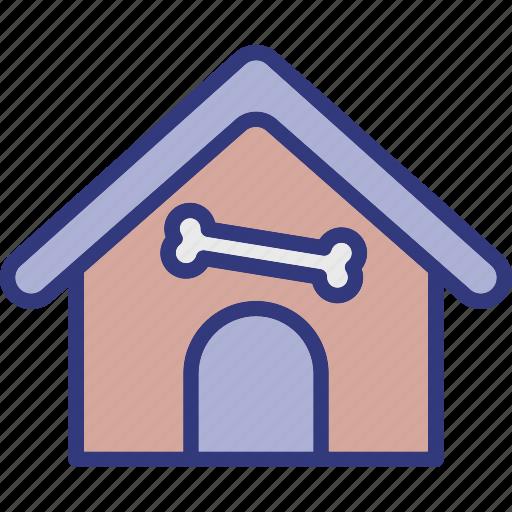 animal house, dog house, pet home, pet house icon
