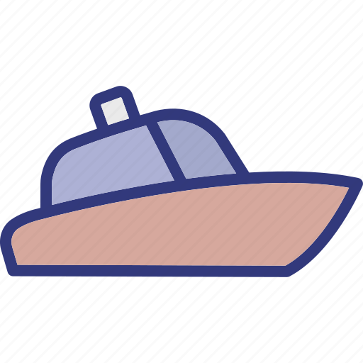 boat, outdoor, recreation, sail. icon