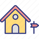 home, house, outdoor, outdoors icon