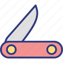 multi, army, outdoor, knife icon