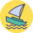 boat, cruise, vessel, yacht icon