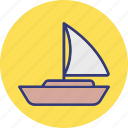 boat, cruise, ship, vessel icon