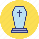 frightening, gravestone, headstone., tombstone icon