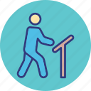 athlete, human, outdoor, person icon
