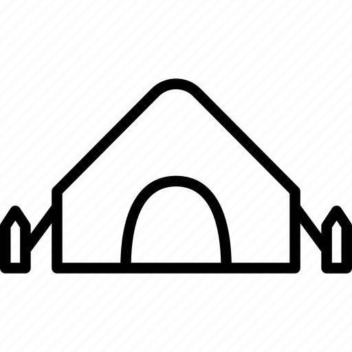 beach tent, camping, tent, tent house icon