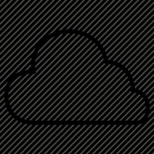 cloud, clouds, internet, network, storage, upload, weather icon