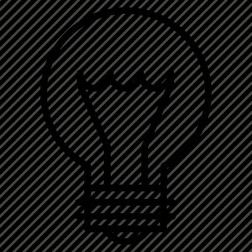 bulb, electricity, energy, idea, light, lightning, plug icon