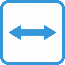 arrow, direction, expand, navigation, zoom icon