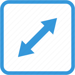 arrow, directions, move, navigation icon