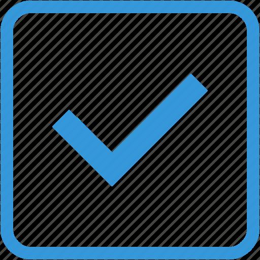 accept, arrow, check, good, ok, tick icon