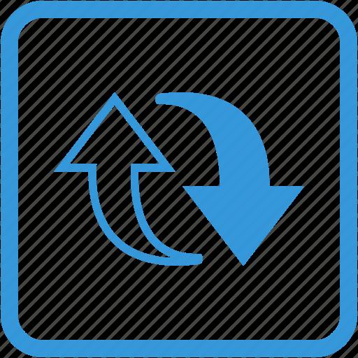 arrow, arrows, refresh, reload, renew icon