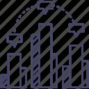analytics, chart, data, diagram, graph, report, statistics icon