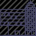 architecture, building, city, enterprise icon