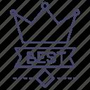 achievement, best, crown, royal