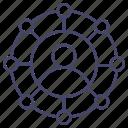 avatar, business, management, organisation icon