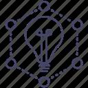 creative, idea, lamp