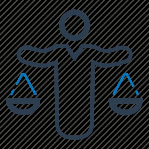 balance, business, decision, decision making icon