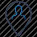 business, location icon