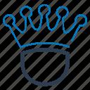 business winner, crown, king, royal