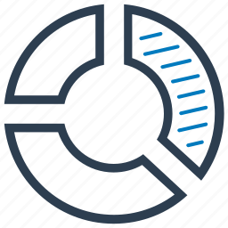 pie chart, report, sales icon