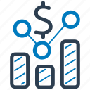 business report, financial report, graph, statistics icon