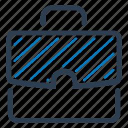 briefcase, career, office bag, portfolio icon