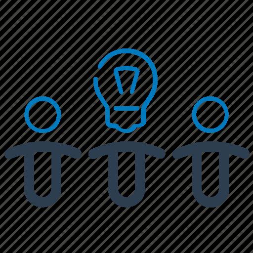 brainstorming, business idea, creative team, teamwork icon