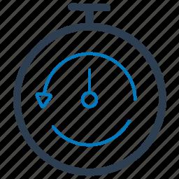 deadline, stopwatch, timer icon