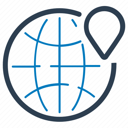 global, local seo, location icon