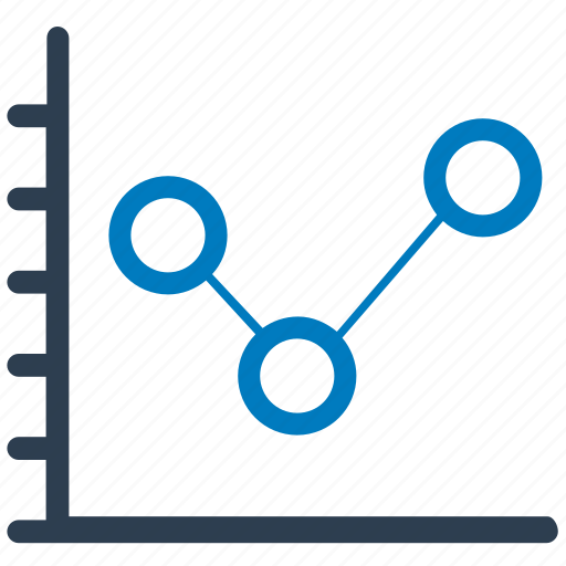 analysis, graph, sales icon